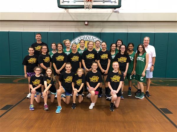 June 2018 Girls Summer Basketball Camp