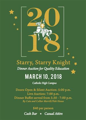 A Starry, Starry Knight Auction Information!